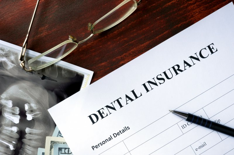 Documents intended for dental insurance in Canton.